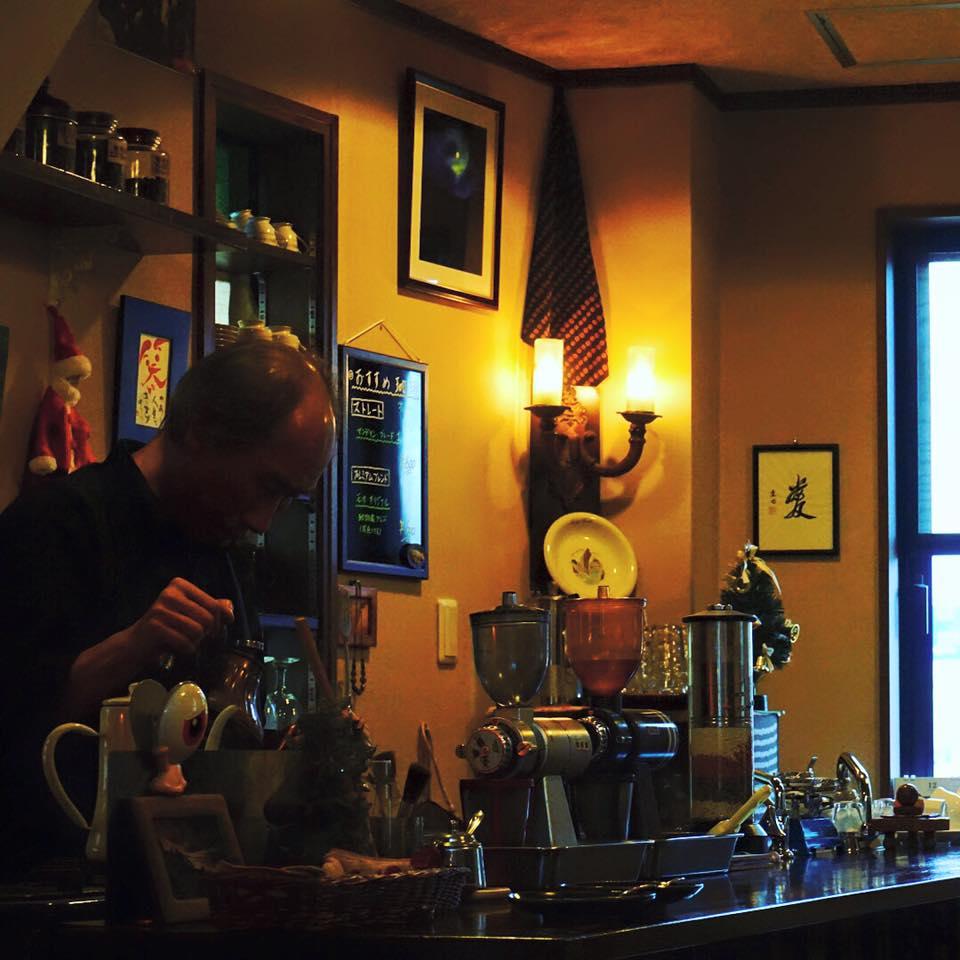 コーヒー好きだから珈琲家さんもご案内したよ♪