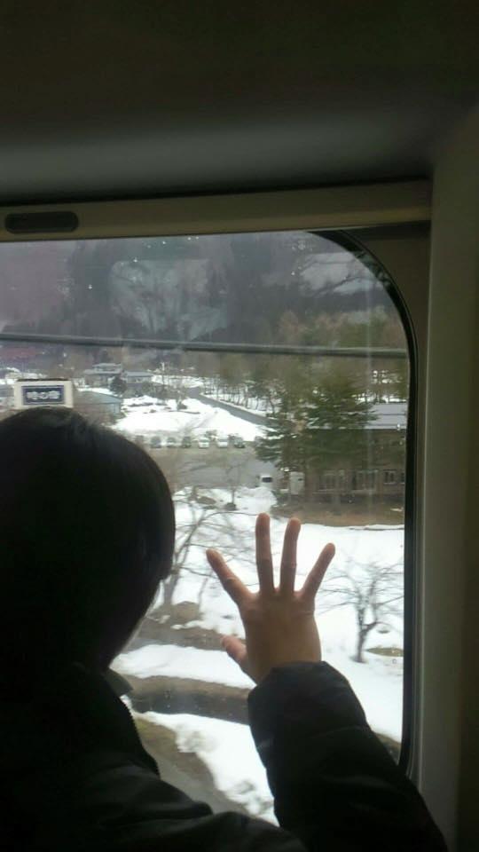 いつまでも 大切な記念の 素敵な思い出に♪ー新幹線つばさから届いた笑顔ー