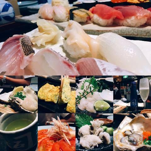 一緒に横浜駅近くにあるお寿司屋さんに行ってーー