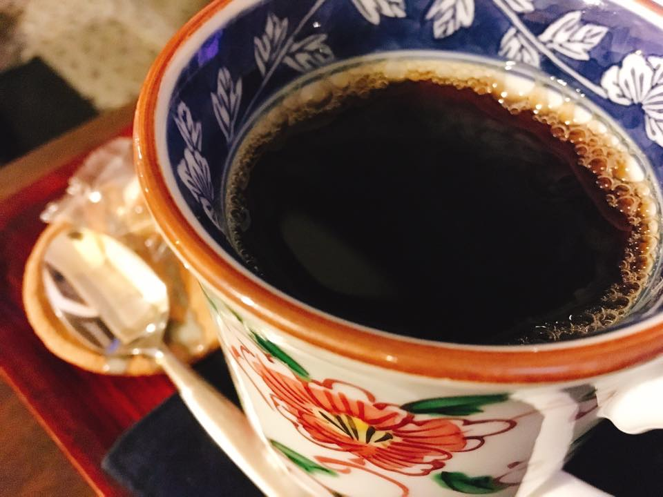 コーヒーは3種類マイルド、蓮櫻ブレンド、イタリアン。