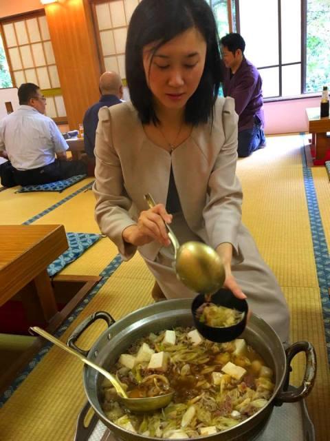 温泉米沢八湯会の例会とランチで芋煮会に行ってきました♪ー白布温泉にてー