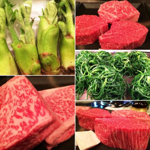 メイン料理が選べる楽しさ『すみれの米沢牛創作懐石2015春』本日からスタートです!