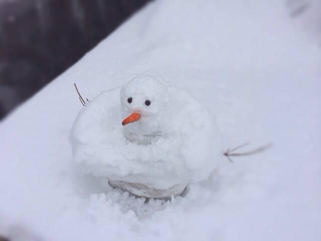 『アナと雪の女王』のオラフを真似てから 翼や角が生えるまでに(汗)