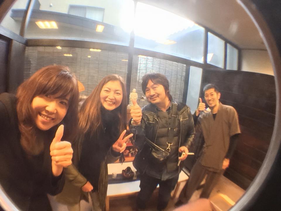 小野川温泉のお友達、登府屋旅館さんへも行きましたよ♪
