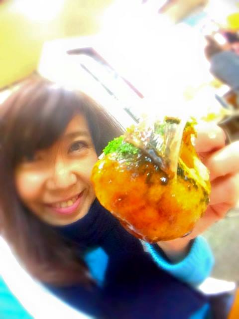 大阪で たこ焼きツアーしたいね(笑)