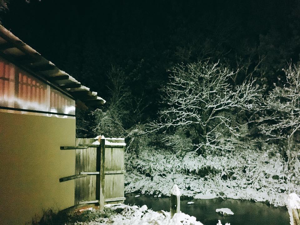 赤石川も雪景色~