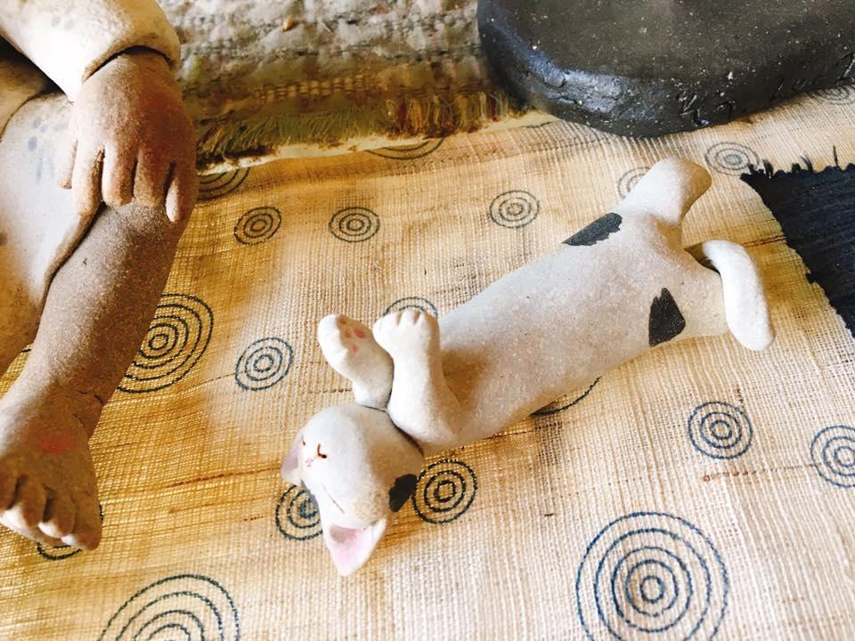 米沢焼の器と 米沢牛もも肉の自家製スモーク ー新オプションメニュー予告編ー