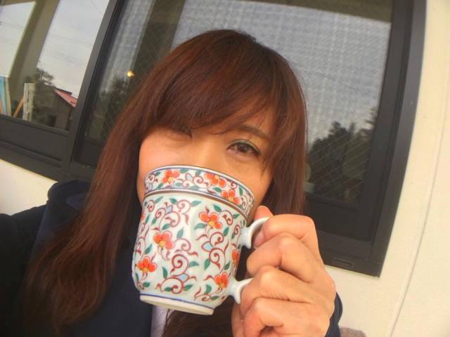 コーヒーを飲んでくつろぎタイム~♡