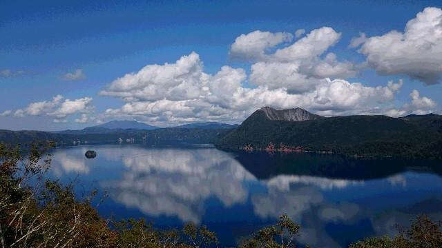 素晴らしい景色の北海道摩周湖。お客さまの旅先より