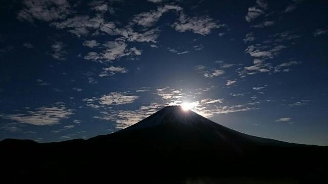 朝霧高原の日の出の瞬間!