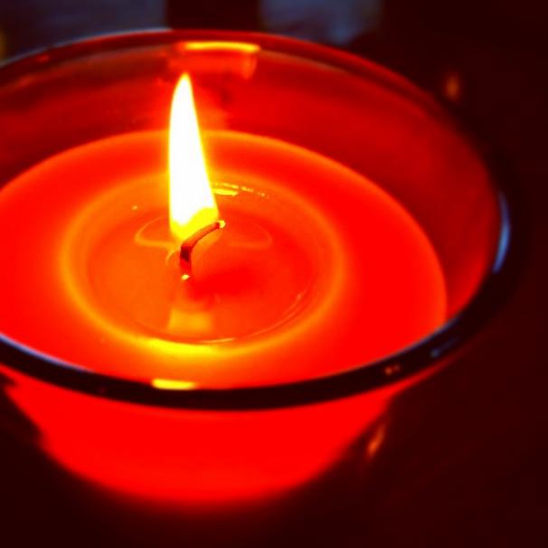 アロマの香りが好き。キャンドルの優しい灯りは心癒される