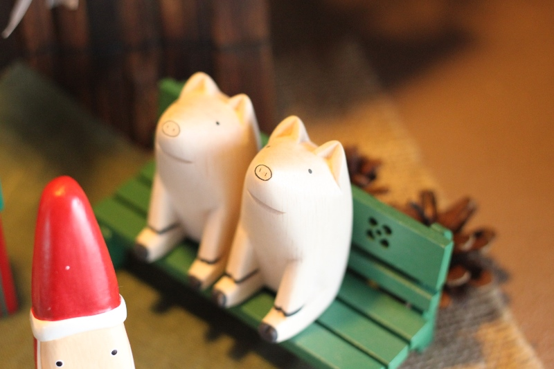 クリスマスイブ☆温泉旅館の風景と可愛いアイテムたち♪