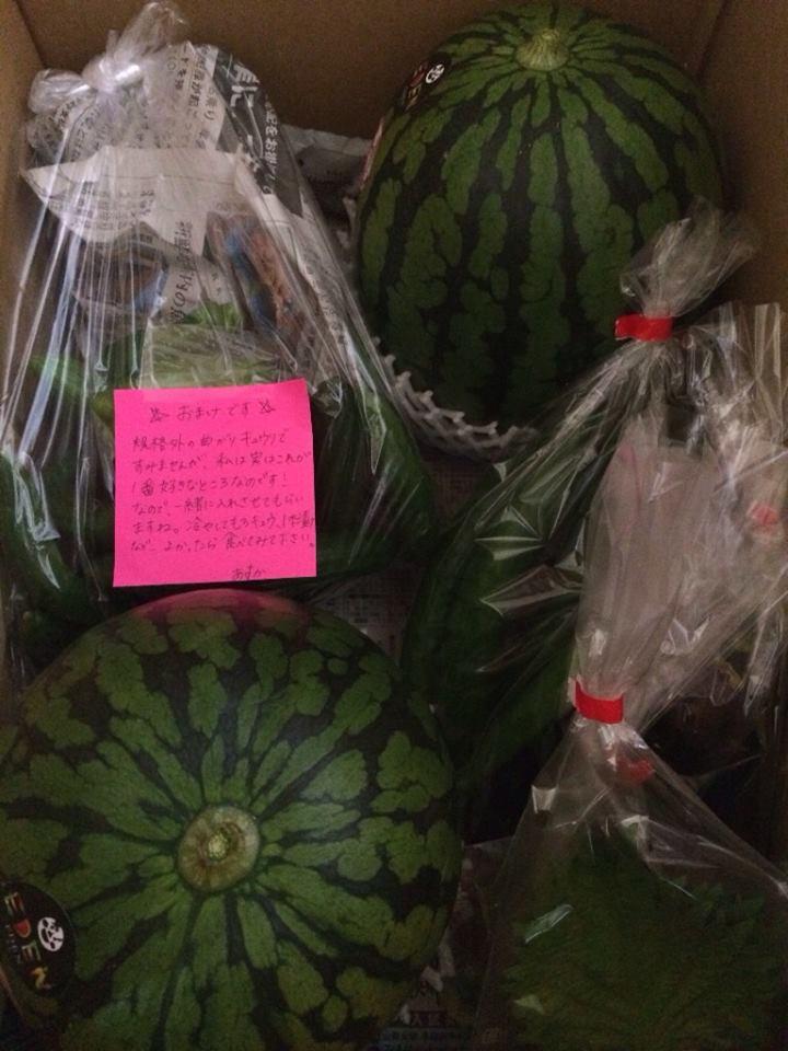 米沢・笑伝さんのお野菜に再注文が来てました!ー米沢八湯小包プラン編ー