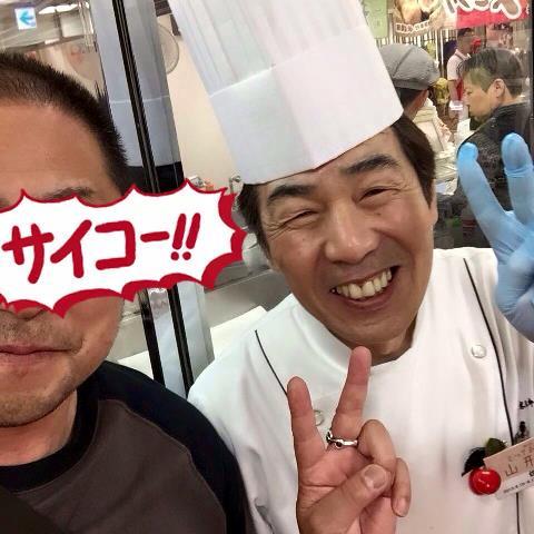 佐藤料理長とツーショットで!!