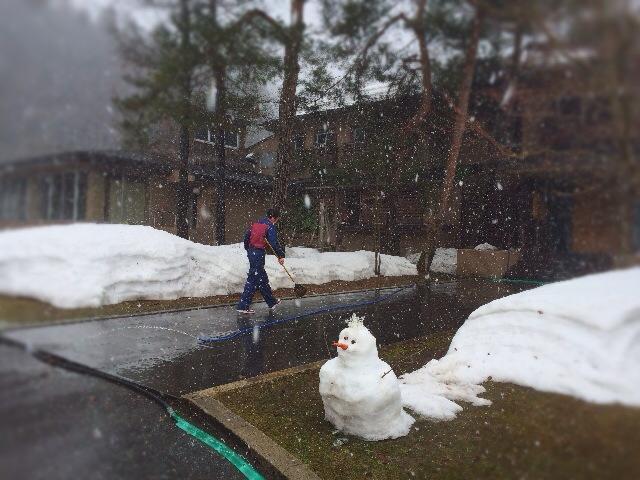 吹雪?大雪?でも週末には米沢も穏やかなお天気に。