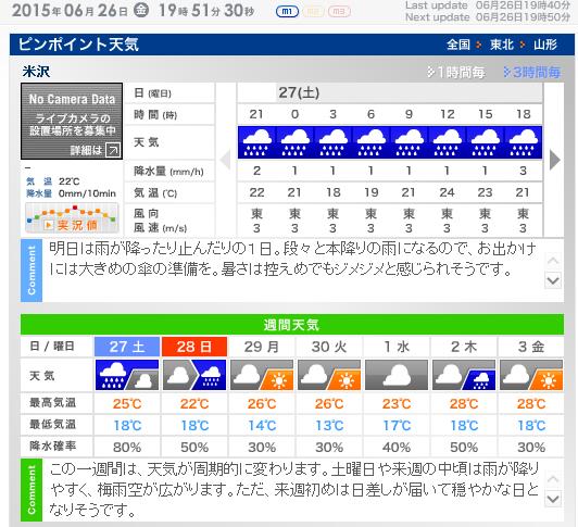 夏メニューをご用意しています♪明日は雨模様なのでお気をつけて♪